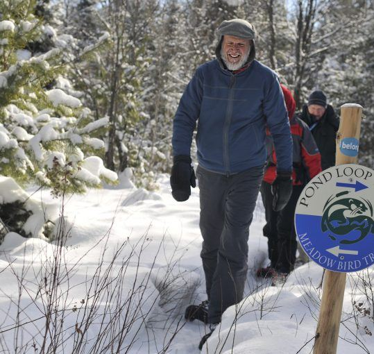 Snowshoeing Trails