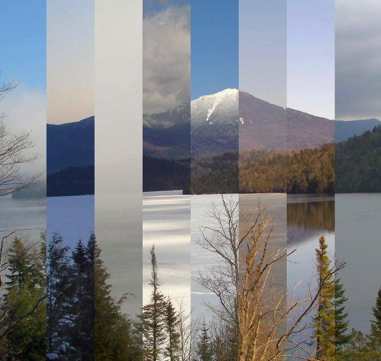 multi-season image of Whiteface Mountain